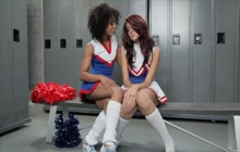 Sweet and horny cheerleaders