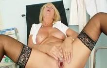 Mature nurse pussy gaping