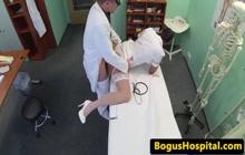 Slutty nurse earns a raise