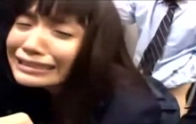 Crying student gets intense banging