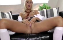 Pussy rubbing after school