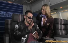 Great CNFM anal with stewardesses Tanya Tate and Veronica Avluv