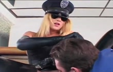 Latex Cop Girl Fucked Good