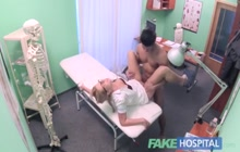 Doctor taking my cock