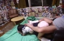 JPN teen blowing and fucking